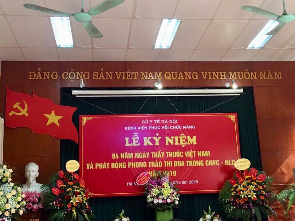 Lễ Kỷ niệm 64 năm Ngày Thầy thuốc Việt Nam